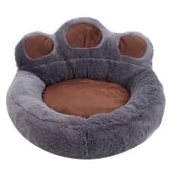 Pet Bed Små Katter Eller Hundar Bäddar för Inomhus Deep Brown S