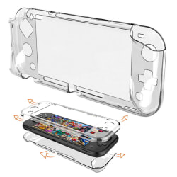 Switch Lite Transparent Clear Skyddsfodral