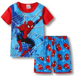 Småbarn Pojke Spiderman Pyjamas Set T-shirt Nattkläder