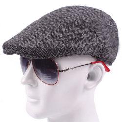 Unisex Newsboy-keps för män Golf Driving Flat Drivers Hat Light Grey