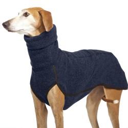 Vinterkläder Hund Pet Greyhound Whippet Lurcher Jumper Dark Blue L