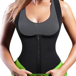 Kvinnor Body Fitness Gym Sports Vest black 5XL