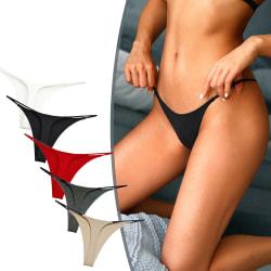 Kvinnor Underkläder Micro G-string Underbyxor Bikini Underkläder White M