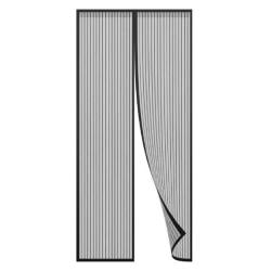 Myggnätsdörr med Magneter (svart)