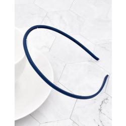 Tunt Diadem Non-Slip (marinblå) Marinblå