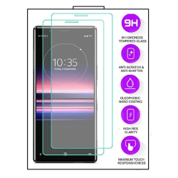 2-Pack Sony Xperia 1 III - Härdat Glas Tempered Glass Transparent