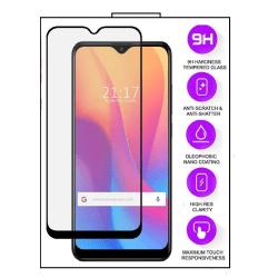 Xiaomi Redmi 9 - 10D Helskärm Härdat Glas Transparent