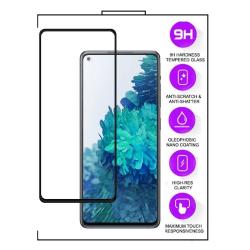 Xiaomi Mi 11 Lite / Mi 11 Lite 5G -5D helskärm Härdat Glas Svart Transparent