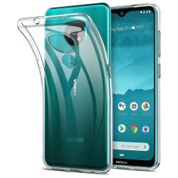Nokia 3.4 - Transparent Mjuk Slim Skal  Transparent