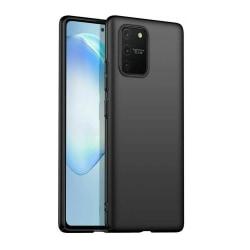 Samsung Galaxy A02S - Silicon TPU Mjuk Skal - Svart Svart