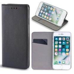 Samsung Galaxy A22 4G - Smart Magnet Mobilplånbok - Svart Svart