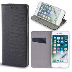 Samsung Galaxy A22 5G - Smart Magnet Mobilplånbok - Svart Svart
