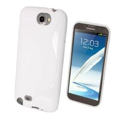 Samsung Galaxy Note 3 - Neo S Line TPU Gel Skal - Vit Vit