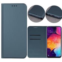 Samsung Galaxy S20 FE (4G/5G) - Smart Skin Mobilplånbok Mörkgrön