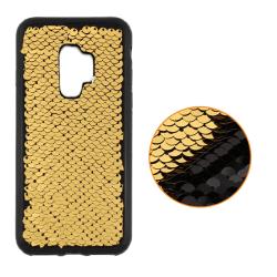 Samsung Galaxy S9 Plus - Magic Gel Skal - Guld Guld