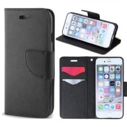 Xiaomi Redmi Note 8 Pro - Smart Fancy Mobilplånbok - Svart Black