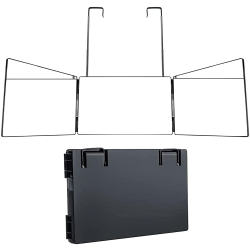 3-vägs Trifold Mirror Portable 360 ° Barber Mirror