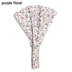 Baby Turban pannband PURPLE FLORAL PURPLE FLORAL