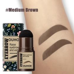 Brow Stamp Shaping Kit One Step MEDIUM BROWN Medium Brown