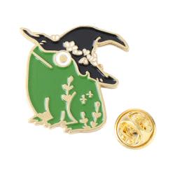 Frog Shape Paint Brooch Frog Wizard Hat Shape XZ3227 XZ3227 XZ3227