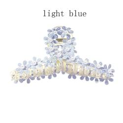Pearl Flowers Hårnålar Huvudbonader LJUSBLÅ light blue