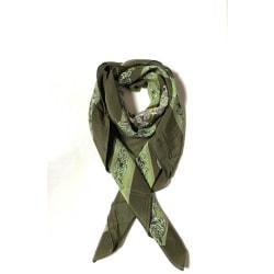 SidenScarf av 100% siden grön