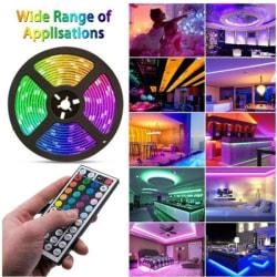 LED-List Stripe med RGB LED-Strip 5 meter SMD 5050 ljusslinga