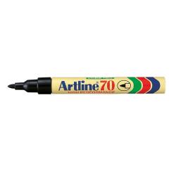 Svart Permanent märkpenna Artline 70 1 Svart