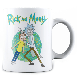 Rick and Morty Open Your Eyes mug