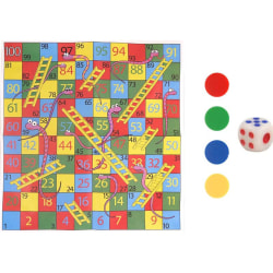 FUN TOYS - SNAKES AND LADDERS GAME