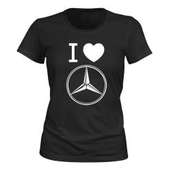 Mercedes-Benz - T-SHIRT - DAM svart S