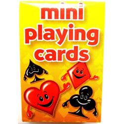 MINI PLAYING CARDS 4 x 6 cm