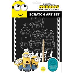 MINIONS SCRATCH ART SET