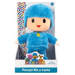 Pocoyo Spanish plush toy 25cm