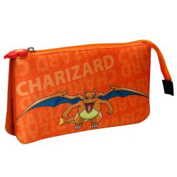 Pokemon Charizard triple pencil case