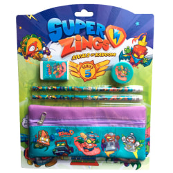 Super Zings stationery set with pencil case