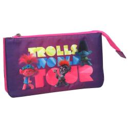 Trolls triple pencil case