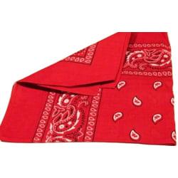 Bandana scarf Paisley Röd Röd