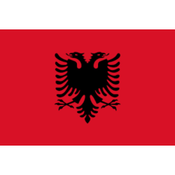 Flagga - Albanien