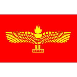 Flagga - Syrianska