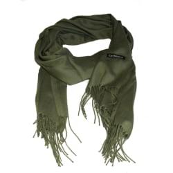 Olivgrön sjal halsduk  Grön