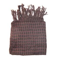 Palestinasjal - Brun och svart - scarf Brun