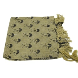 Palestinasjal - Döskallar beige och svart - scarf Beige