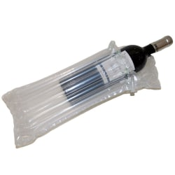 Skyddspåse uppblåsbar flaska Blå
