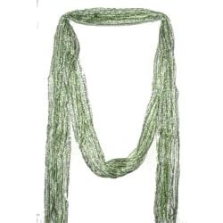 SOMMAR HALSDUK Randiga -Grön och vit Grön