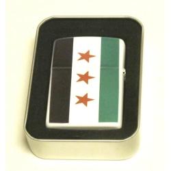 Syriens gamla flagga bensintändare