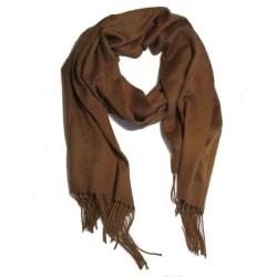 Viscose brun sjal scarf  Brun
