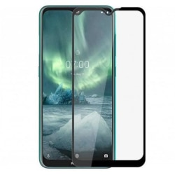 2-PACK Nokia 7.2 FullFrame® 0.26mm 9H Härdat Glas Transparent