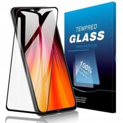 2-PACK Redmi Note 8 Pro FullFrame® 0.26mm 9H Härdat Glas Transparent