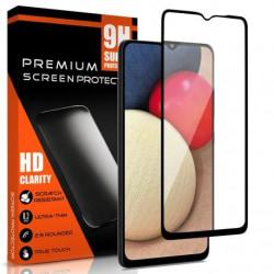 2-PACK Samsung A02s FullFrame® 0.26mm 9H Härdat Glas Transparent